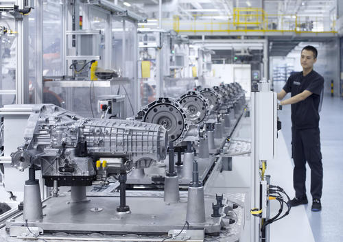 Audi starts transmission production in China