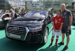 FC Bayern starts the season with Audi