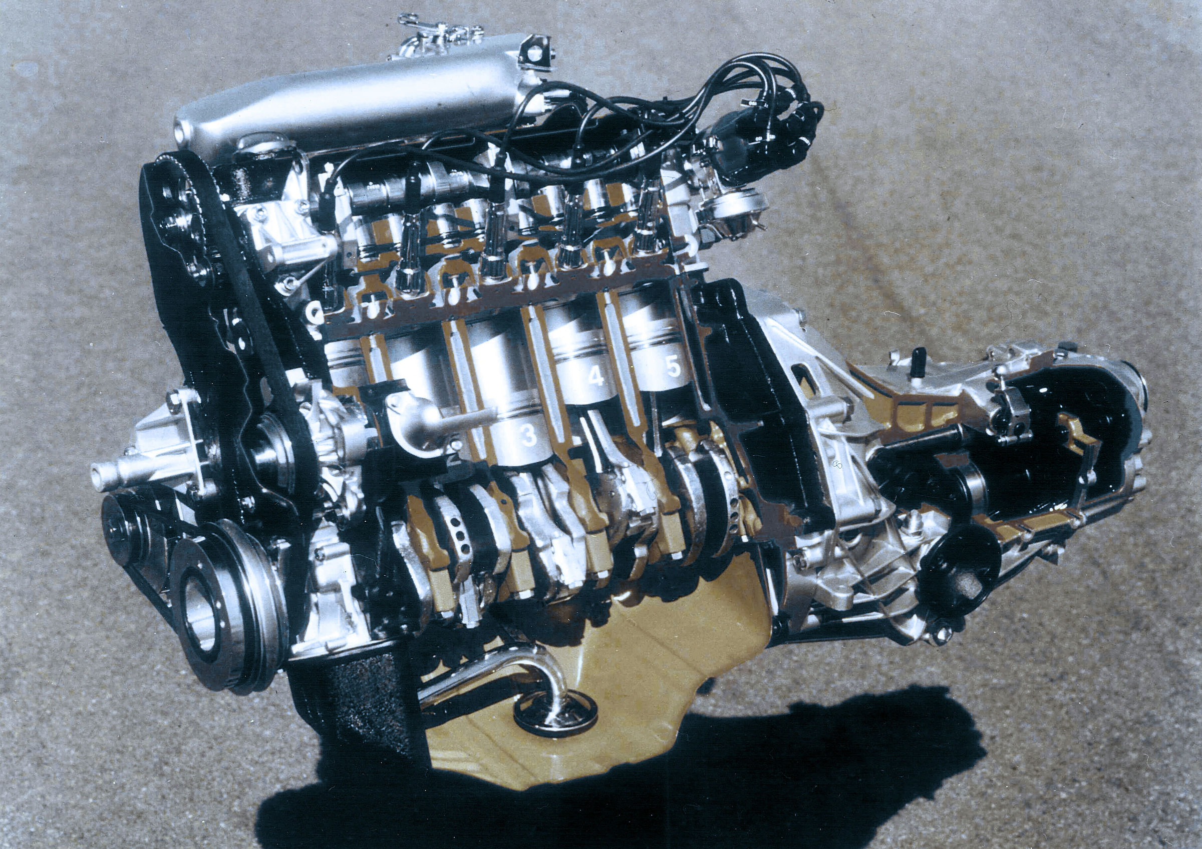 40 years of Audi five-cylinder engines | Audi MediaCenter
