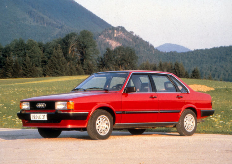 Audi 80 CD (B2), model year 1982