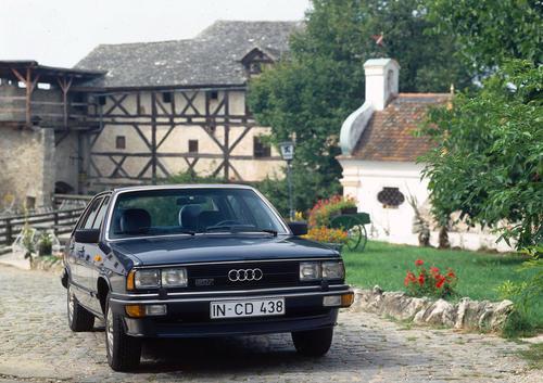 Audi 200 5T (C2), model year 1981
