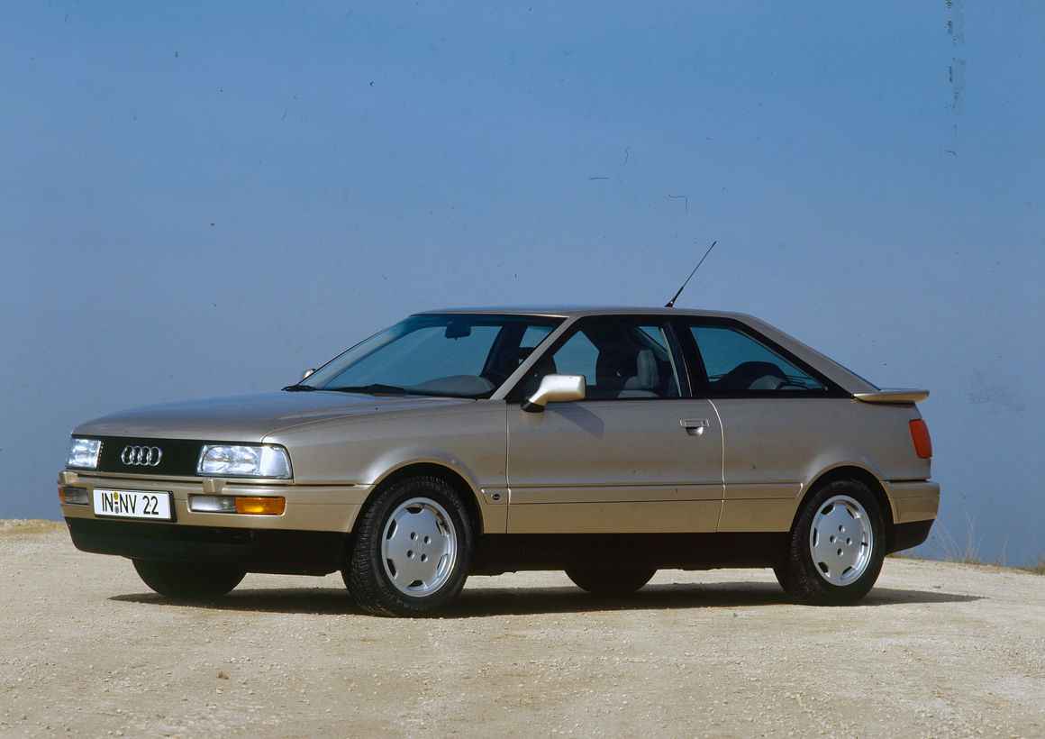 Audi Coupé 2.3E (B3), model year 1989