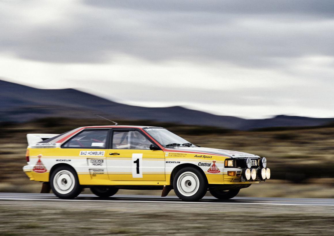 Audi quattro A2, Gruppe B, Baujahr 1983