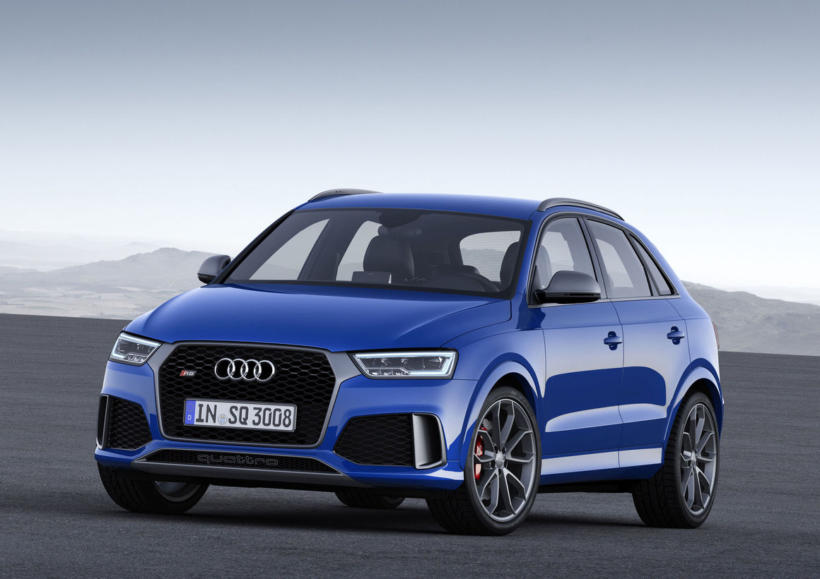 Audi RS Q3 performance, model year 2016