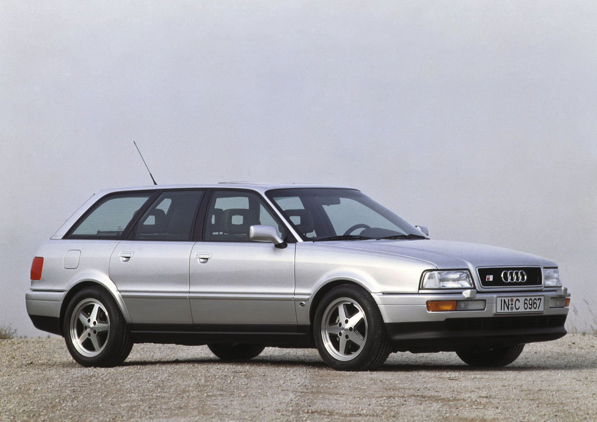 Audi S2 Avant (B4), Baujahr 1992