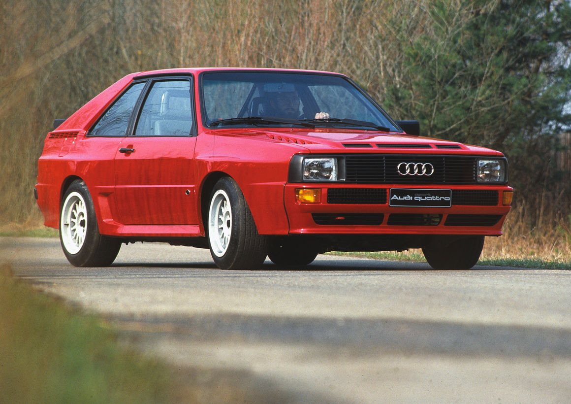 40 years of audi five cylinder engines audi mediacenteraudi sport quattro (b2), model year 1984