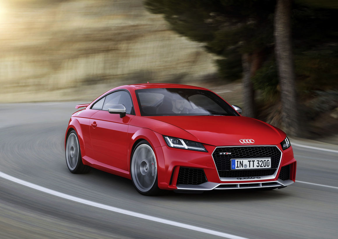 Audi TT RS Coupé, model year 2016