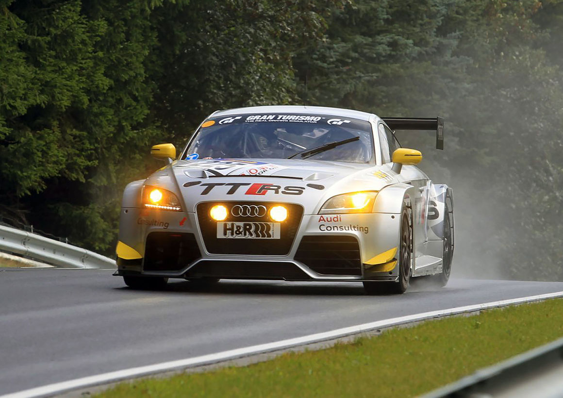 Audi TT RS racing car, model year 2011