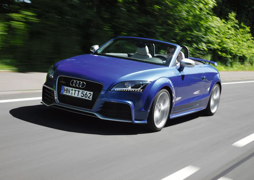 Audi TT RS Roadster, model year 2009
