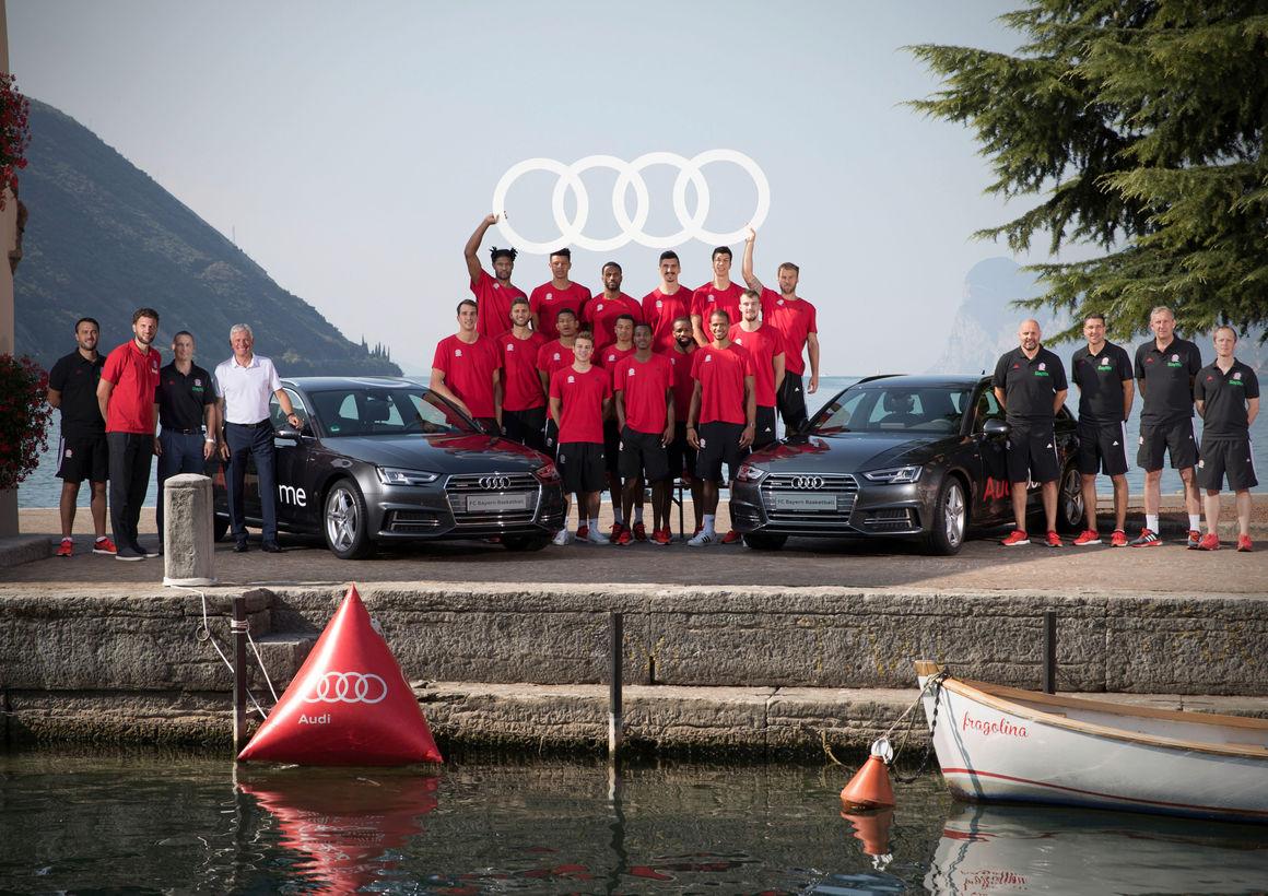 Neue Audi-Modelle für FC Bayern Basketball