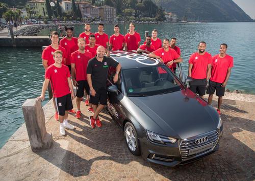New Audi models forFC Bayern Basketball