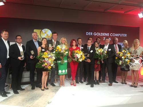 """Preisverleihung Computerbild """"DER GOLDENE COMPUTER 2016"""""""