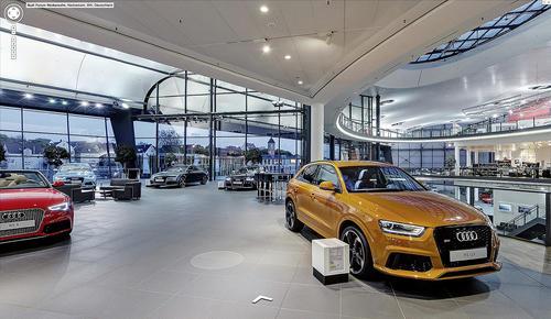 Virtuell durch das Audi Forum Neckarsulm