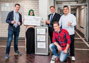 Trinkwasser für Afrika: Neckarsulmer Audi-Azubis finanzieren Brunnen mit Flaschenpfand