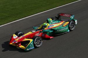 FIA Formula E, Testfahrten Donington
