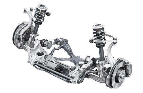 Five link front suspension