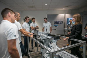 ERC Ingolstadt visits Audi production site