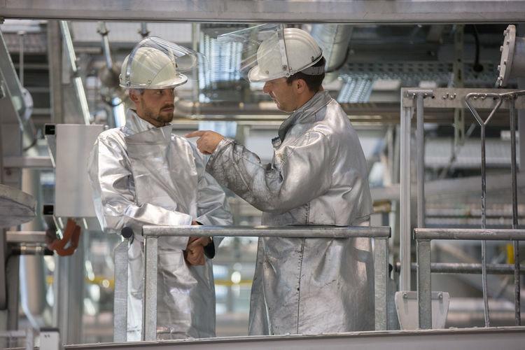 ERC Ingolstadt visits Audi production site