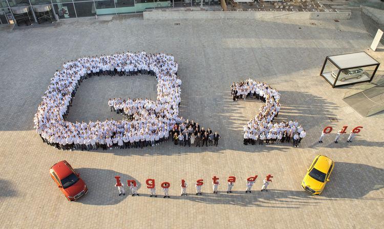 Erster Arbeitstag für 555 Azubis und duale Studenten bei Audi Ingolstadt