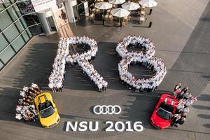 Ausbildungsstart für 273 Auszubildende  am Audi-Standort Neckarsulm