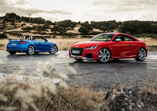Audi TT RS Coupé und TT RS Roadster (2016)