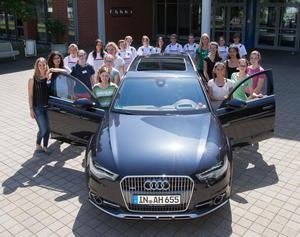 Forscherinnen-Camp bei Audi am Standort Ingolstadt: