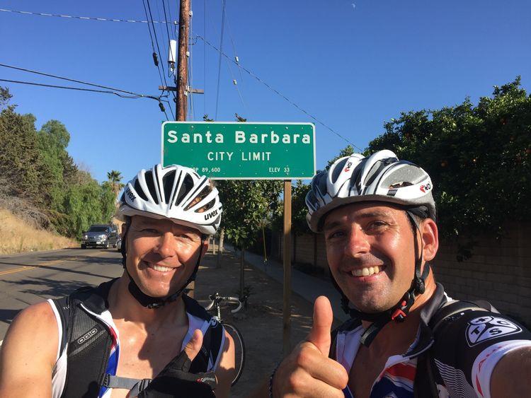Californian bicycle tour