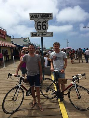 Kalifornien-Radtour
