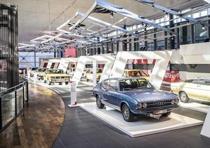 """Neue Traditionsausstellung """"Von Null auf 100"""" vom 24. Juni bis 6. November 2016 im Audi Forum Neckarsulm."""