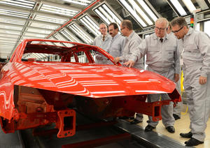 Audi Ingolstadt: Audi opens new, highly efficient paint shop