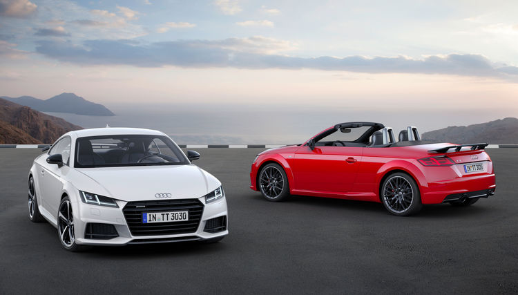Audi TT  Coupé S line competition, Audi TT Roadster S line competition