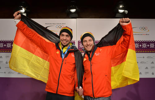 Tobias Wendl und Tobias Arlt in the German House