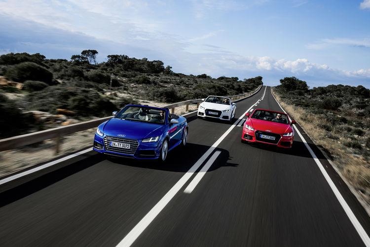 Audi TT Roadster, Audi TTS Roadster