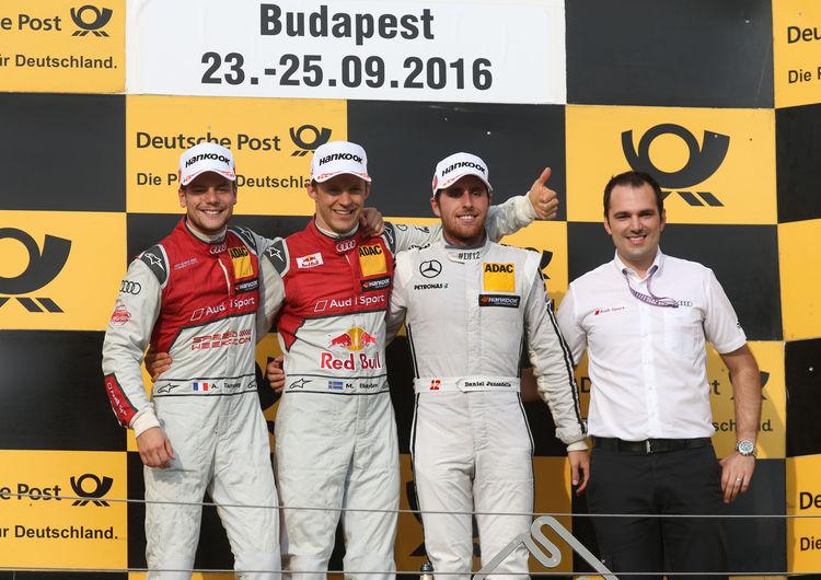 DTM Budapest 2016