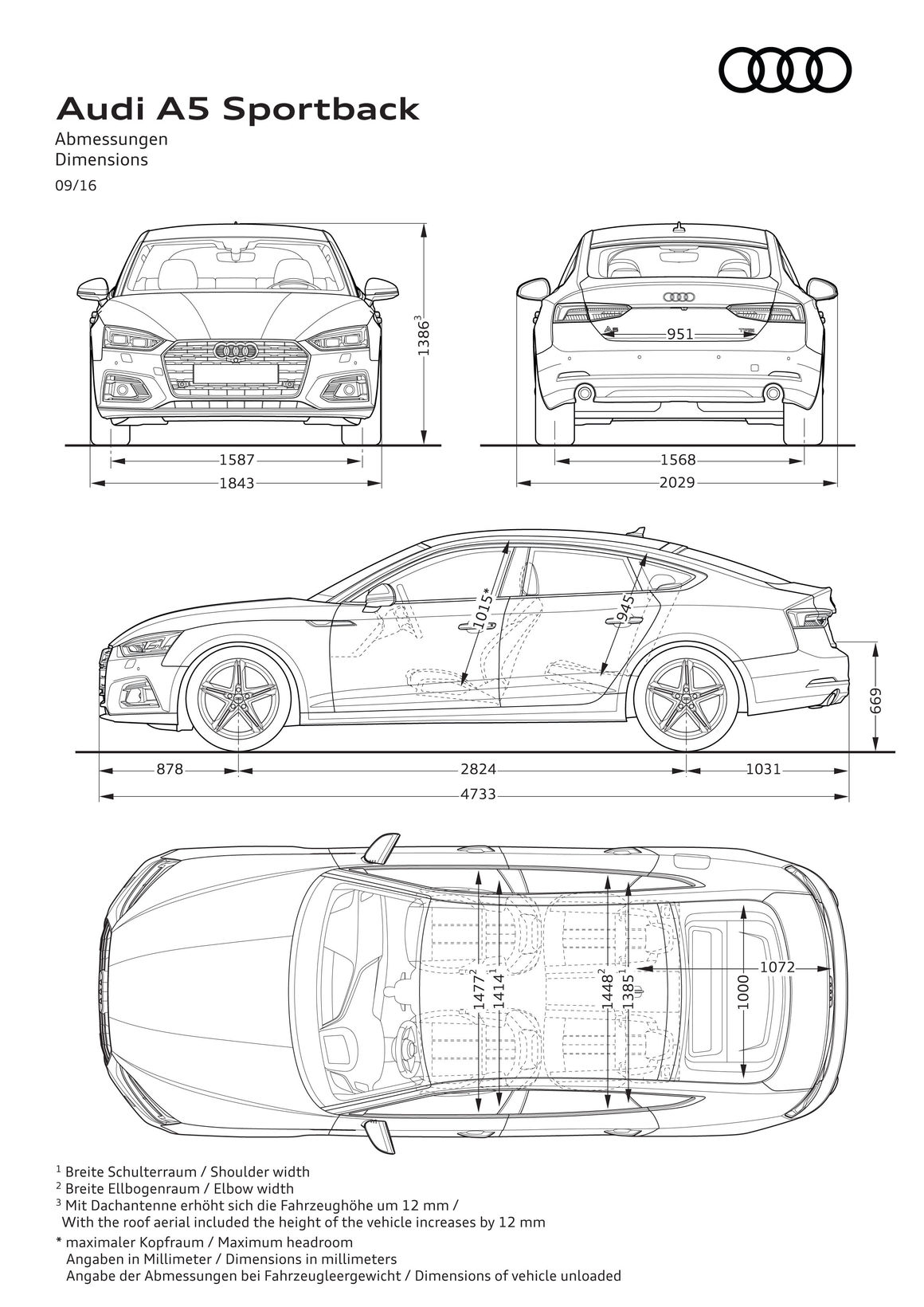 Audi A5 Sportback Audi Mediacenter