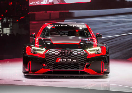The new Audi RS 3 LMS, Paris Motor Show 2016