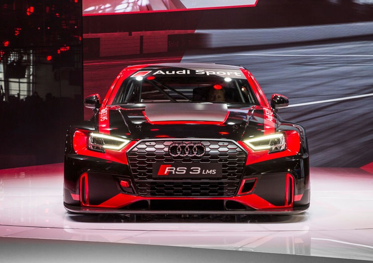 The new Audi RS 3 LMS, Paris Motor Show 2016
