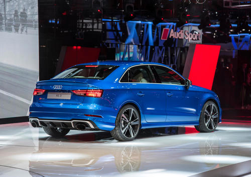 The new Audi RS 3 Sedan, Paris Motor Show 2016