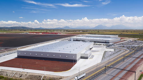 Audi México: aerial view JIS Park