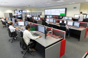 Audi México: Production control room