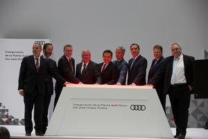 AUDI AG inaugurates plant in Mexico