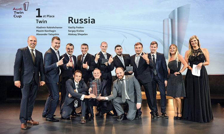 Audi Twin Cup: ausgezeichneter Premium-Service