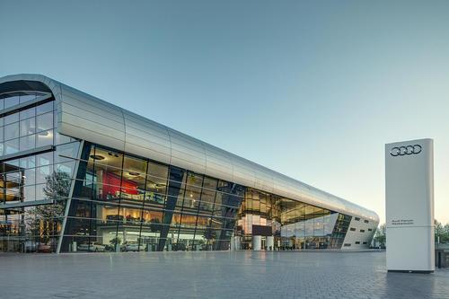 Audi Forum Neckarsulm zum zweiten Mal in Folge als Top-Eventlocation ausgezeichnet