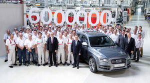 Six-millionth Audi with quattro drive