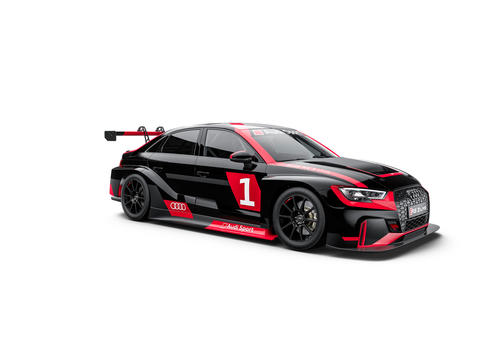 Audi RS 3 LMS 360 degrees