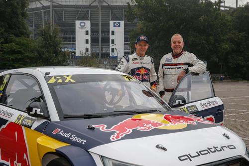 Mattias Ekström (Audi S1 EKS RX quattro), Lotto King Karl