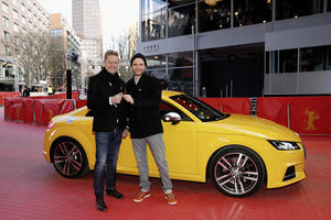 Audi Berlinale Lounge: Hot spot for celebrities, fans and automotive experts