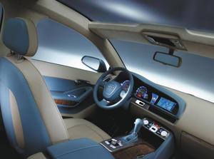 Audi Pikes Peak quattro Innenraum
