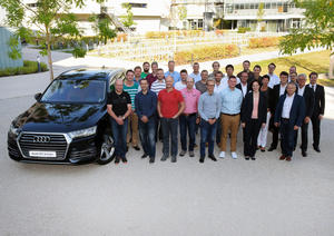 Audi trains development engineers for electric mobility