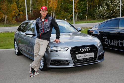 DSV athletes start skiing season with Audi